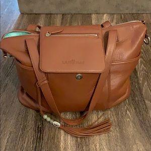 Lily Jade Diaper Bag/Backpack Cognac